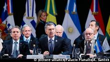 Argentinien Santa Fe Mercosur Gipfel