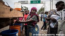 Kongo Goma Ebola Screening an der Grenze zu Ruanda