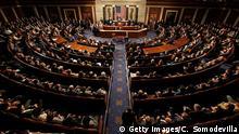 Symbolbild: Abstimmung im US Kongress