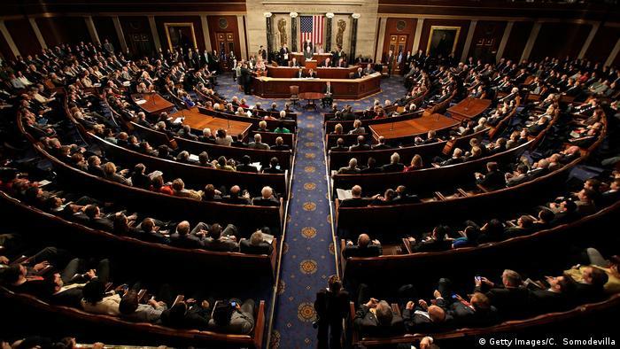 Es gilt als ausgeschlossen, dass der US-Kongress Trumps Veto überstimmen kann (Foto: Getty Images/C. Somodevilla)