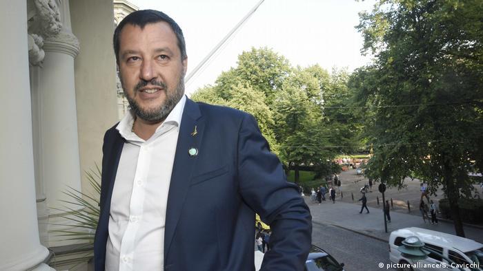 Finnland, Helsinki: Matteo Salvini