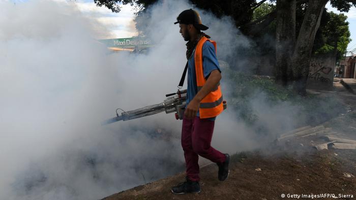 Denguefieber in Honduras (Getty Images/AFP/O. Sierra)