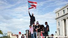 Demonstrationen in Puerto Rico