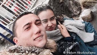 Sadam und Nadila haben 2016 in Xinjiang geheiratet. Nachdem Nadila 2017 nach Xinjiang zurückgekehrt war, konnten sie sich nicht mehr sehen.