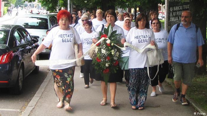 Babys verschwunden in Serbien und Bosnien (Privat)
