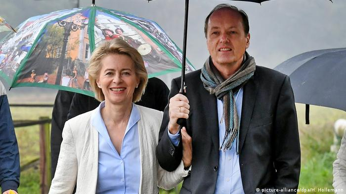 Ursula von der Leyen and her husband Heiko