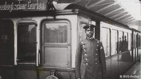 Berlin Zugführer Martin Dibobe