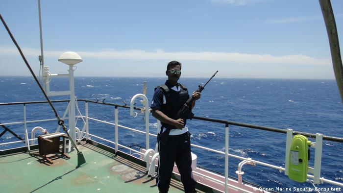 Abdul Razack, an Indian Navy veteran and a former maritime security personnel
