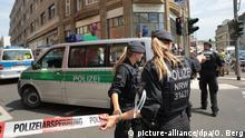 Deutschland - Razzia gegen islamistische Gefährder in Köln