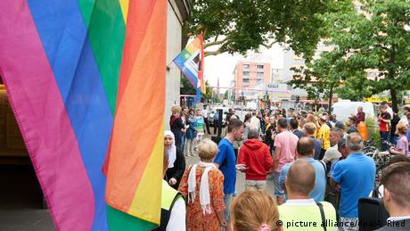 Beginn der Pride Weeks in Berlin (picture alliance/dpa/A. Ried)