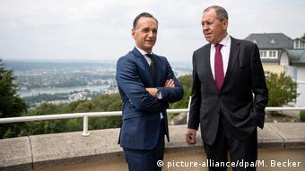 Мас и Лавров на фоне Бонна, 18 июля 2019