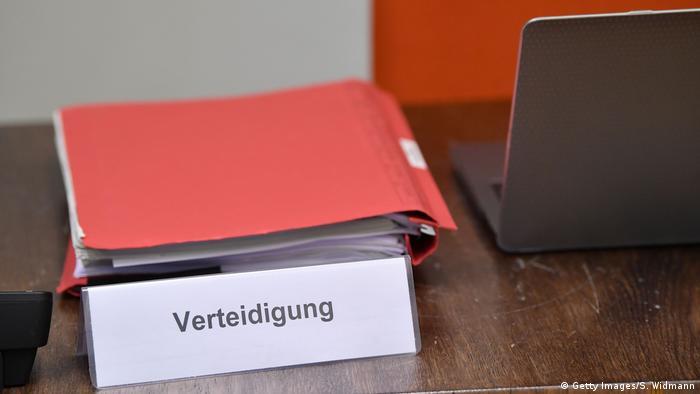 Deutschland München   Prozess Jennifer W., IS-Rückkehrerin (Getty Images/S. Widmann)