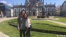 Portugal Einwanderung Joao Veiga mit Partnerin