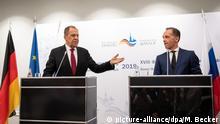 Deutschland Eröffnung Petersburger Dialog Maaß und Lawrow