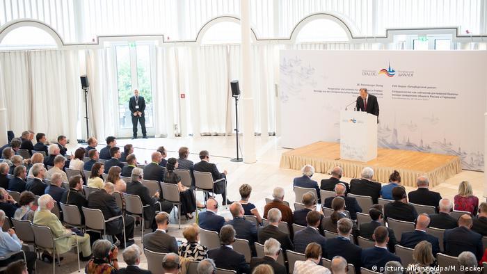 Deutschland Eröffnung Petersburger Dialog