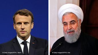 Macron und Rohani | Kombo Bild