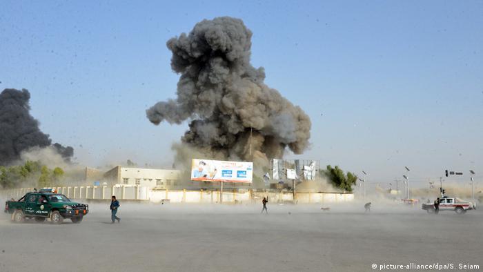 Afghanistan Anschlag auf Polizeiquartier in Kandahar