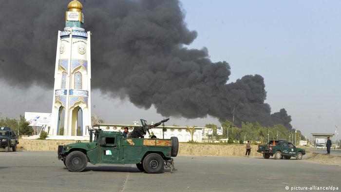 La guerre dure depuis près de vingt ans en Afghanistan (picture-alliance/dpa)