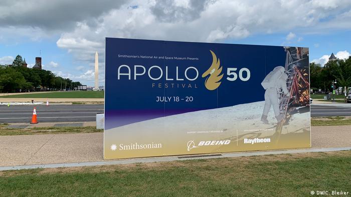Poster for the Apollo 50 Festival in Washington