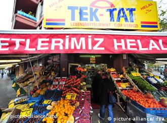 A Turkish grocery in Berlin