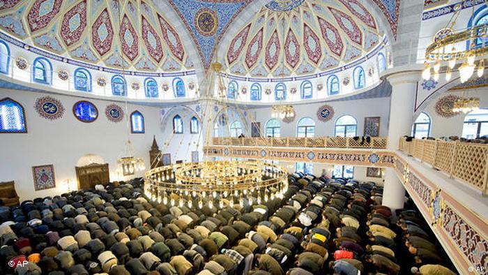 Minarette und Moscheen in Deutschland und Europa, Moschee Duisburg Flash-Galerie (AP)