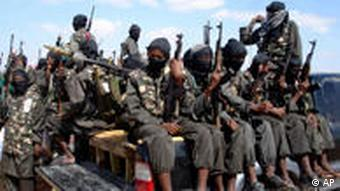 armed fighters from Somalia's al-Shabab jihadist movement