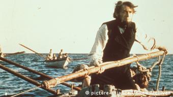 Gregory Peck als Kapitän Ahab in der Moby-Dick-Verfilmung von John Huston
