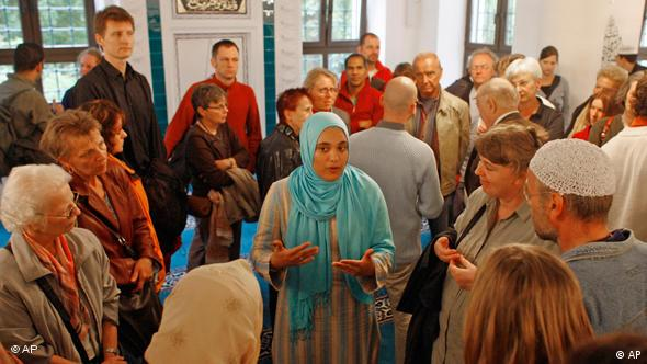 Open Day at a mosque