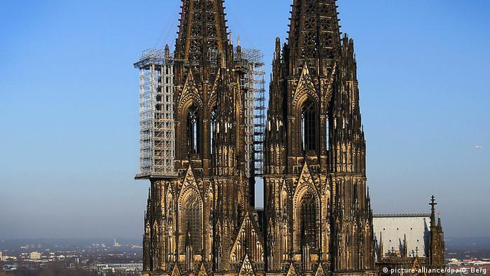 Cologne Cathedral, currently under repair