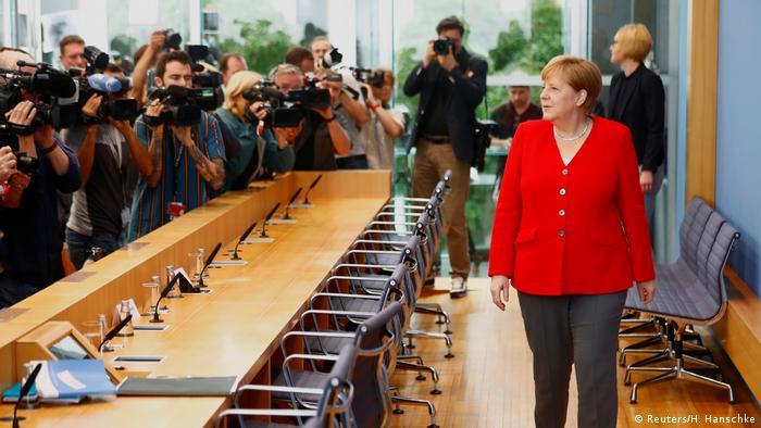 Angela Merkel Sommerpressekonferenz Berlin