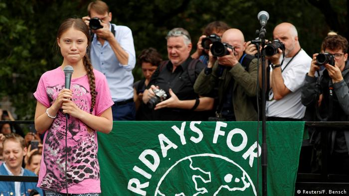 Fridays for Future Protest in Berlin Greta Thunberg (Reuters/F. Bensch)