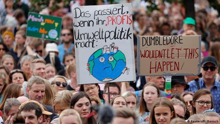 Fridays for Future Protest in Berlin (Reuters/F. Bensch)