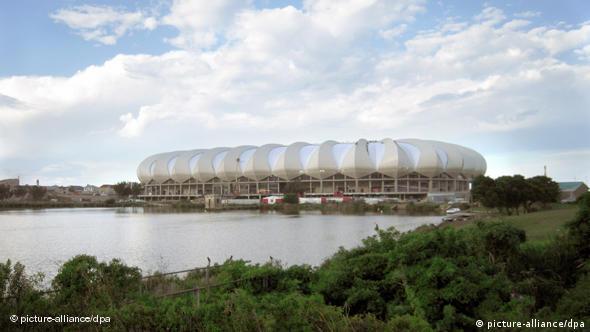 Das WM-Stadion in Port Elizabeth (Foto: dpa)