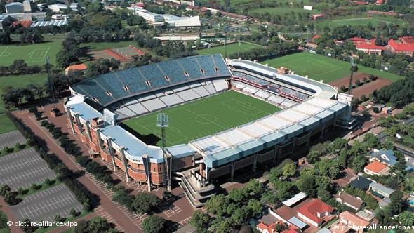 Luftaufnahme des Loftus-Versfeld-Stadions in Pretoria (Foto: dpa)