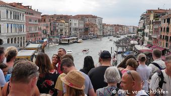 Η συνήθης εικόνα στη Βενετία