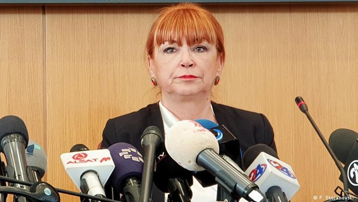 Mazedonische Staatsanwältin Vilma Ruskovska (P. Stojanovski )