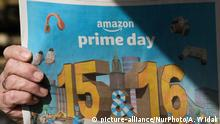 Zeitungsannonce Amazon Prime Day (picture-alliance/NurPhoto/A. Widak)