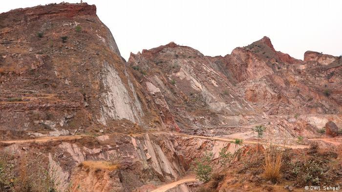 Aravali mountains