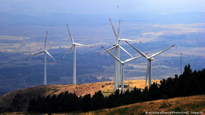 Wind farm in Kenya