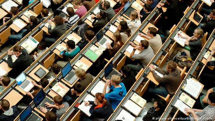 В немецком университете