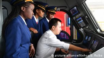 Liaison ferroviaire SGR entre Mombasa et Nairobi
