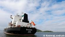 The Iranian vessel Bavand is seen near the port of Paranagua, Brazil July 18, 2019. REUTERS/Joao Andrade NO RESALES. NO ARCHIVES