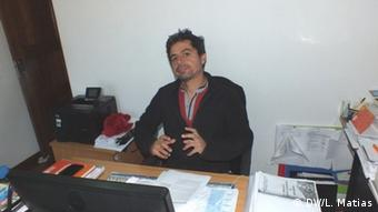 Joao Feijo Forscher am Rural Environment Observatory