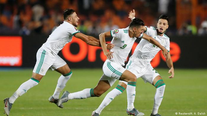 Image result for Algeria beats Senegal 1-0 to win 2019 Africa Cup of Nations