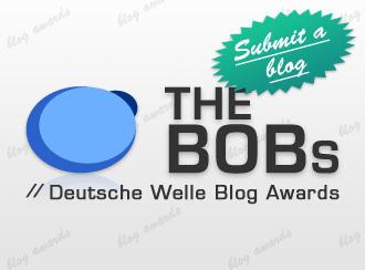 The BOBs English logo