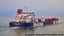 Britischer Tanker Stena Impero (picture-alliance/AP Photo/Stena Bulk)