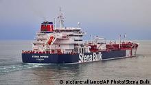 Britischer Tanker Stena Impero