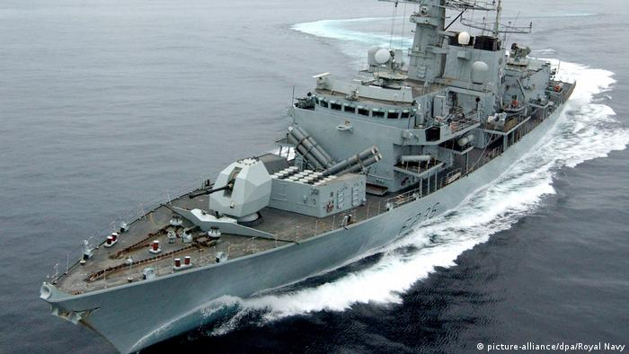 UK HMS Montrose (picture-alliance/dpa/Royal Navy)
