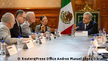 Mexiko Präsident Obrador trifft US-Delegation (Reuters/Press Office Andres Manuel Lopez Obrador)