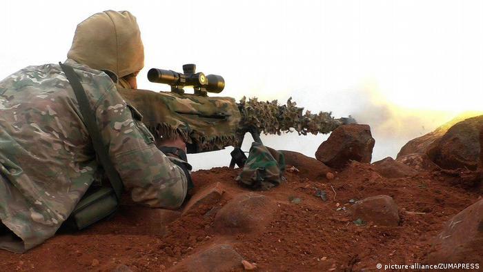 Syrien Scharfschütze des IS